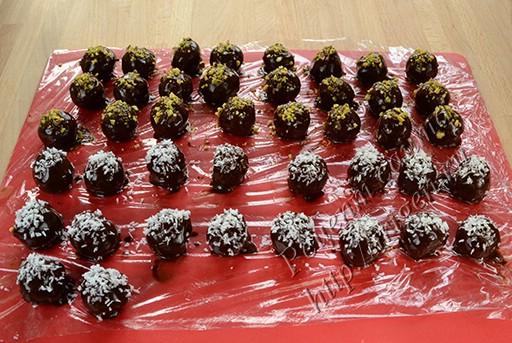конфеты домашние трюфели