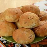 постные булочки с капустой
