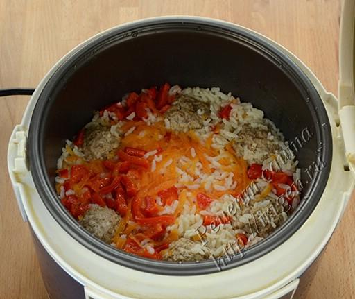 Как сделать тефтели с рисом в мультиварке