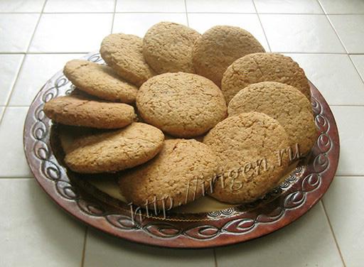 овсяное печенье из мюсли