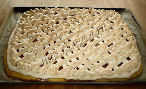 пирожное сюрприз после выпечки