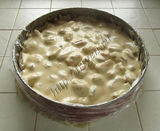 формирование торта