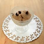 абрикосовое мороженое со сливками