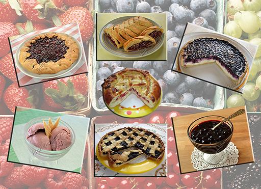 выпечка и десерты из ягод