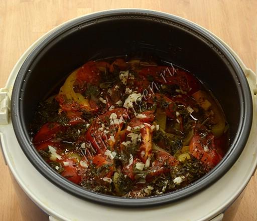 овощное рагу после приготовления