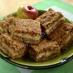 пирог яблочный с геркулесом
