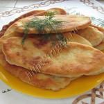 пирожки с картошкой на кефире и сметане