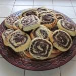 печенье двухцветное спиральки