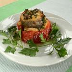 рыбное филе в помидорах