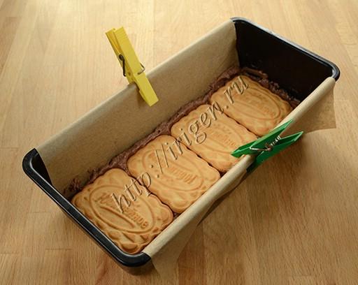 приготовление торта из печенья