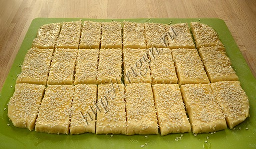 приготовление сырного печенья
