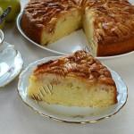 яблочный пирог хризантема