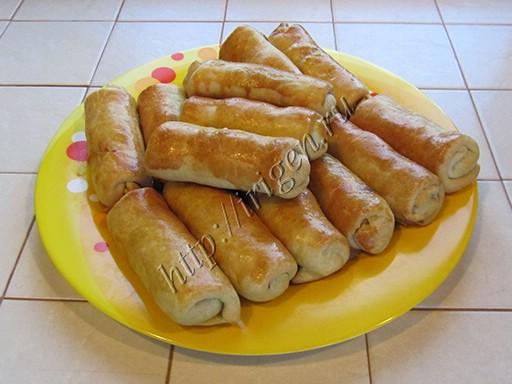 пирожки-трубочки