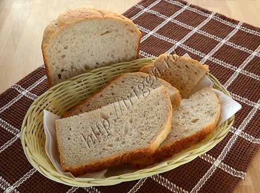 хлеб с геркулесом и гречневой мукой