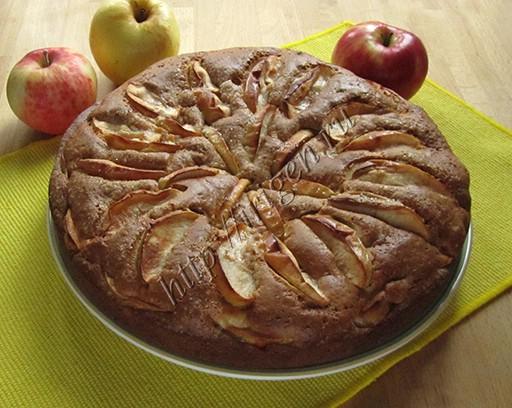 пирог яблочно-медовый мечта