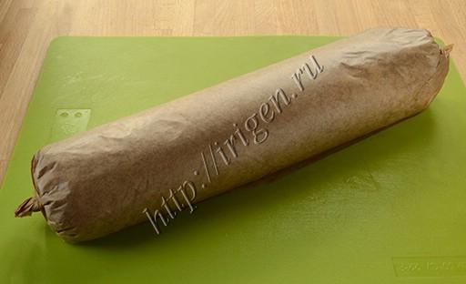приготовление сладкой колбаски