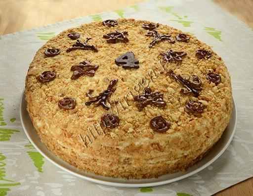 медовый торт мамуся