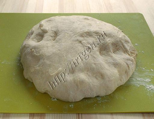тесто из хлебопечки