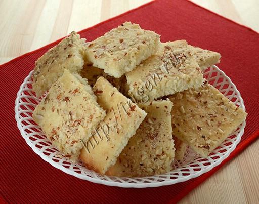 печенье легкое на белках с кокосом