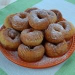 пончики с плавлеными сырками
