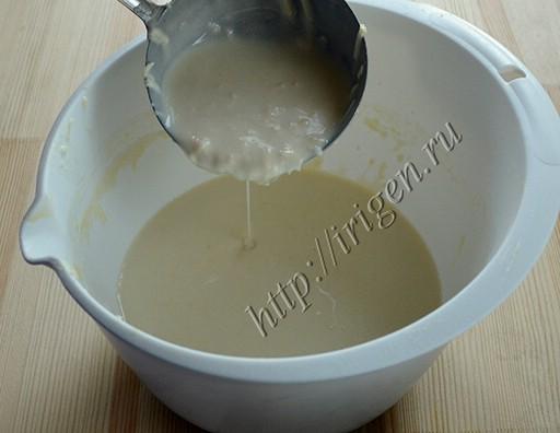 тесто для сырных блинчиков