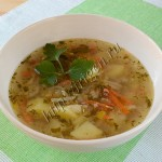 суп с тунцом и сельдереем