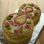 торт бисквитный к 8 марта