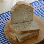постный хлеб с геркулесом в хлебопечке