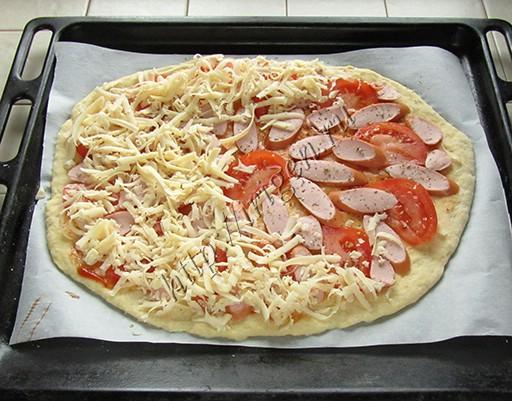 Рецепт пиццы в домашних условиях на сметане 144