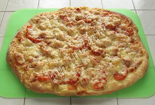 супербыстрая пицца на сметане