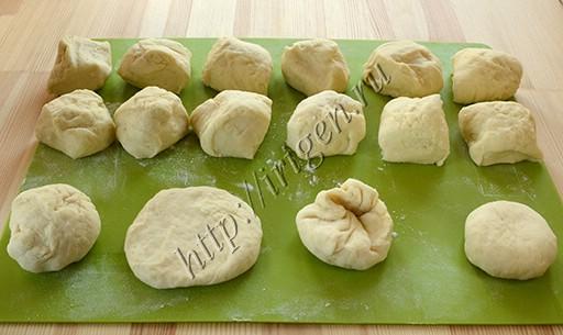 приготовление булочек