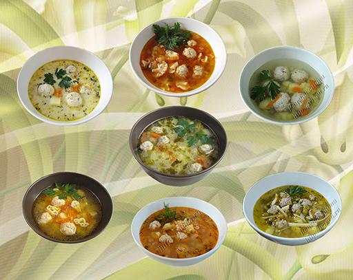 супы с фрикадельками