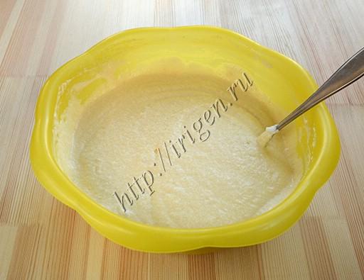 тесто для вафель