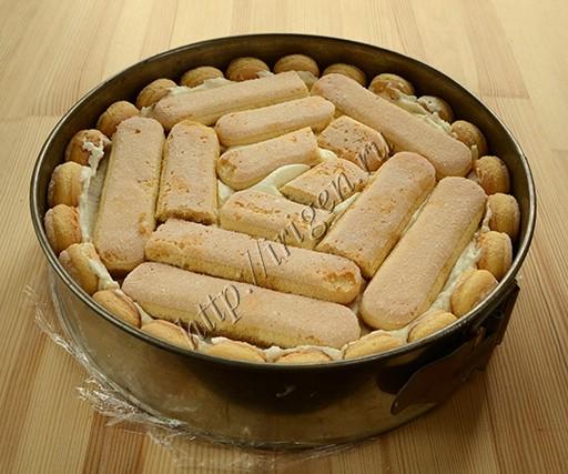 третий слой печенья