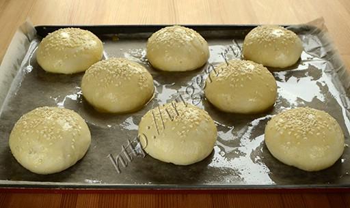 булочки перед выпечкой