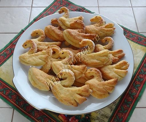 творожное печенье Гуси-лебеди