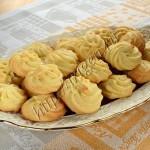 рельефное печенье на желтках
