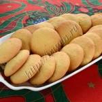нежное печенье на желтках