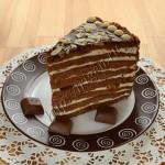 торт рондель в разрезе