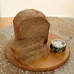 хлеб с солодом и ржаной мукой