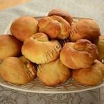 постные апельсиновые булочки