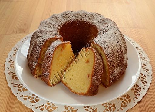кекс нежный с творожным сыром