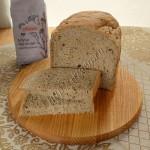 постный хлеб с льняной мукой в хлебопечке