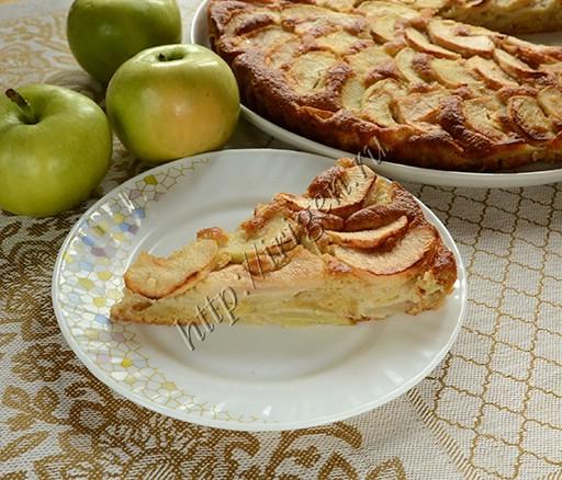 яблочный пирог особый