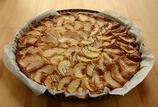 пирог после выпечки