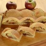пирог яблочные горки