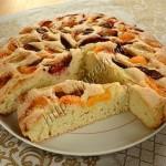 пирог фруктовый на газированной воде