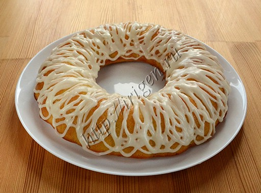 кекс с апельсиновой помадкой