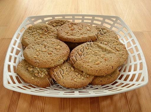 печенье с халвой рассыпчатое