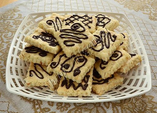 печенье легкое на белках с арахисом